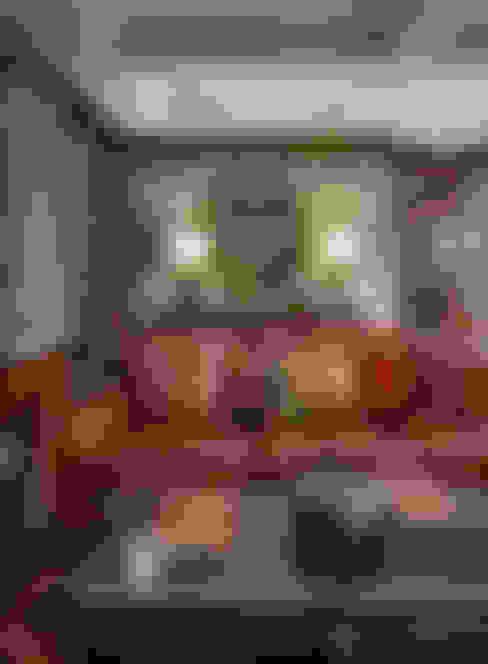 Гостиная, столовая: Гостиная в . Автор – Abwarten!