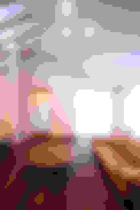 子世帯リビング: MA設計室が手掛けたリビングです。