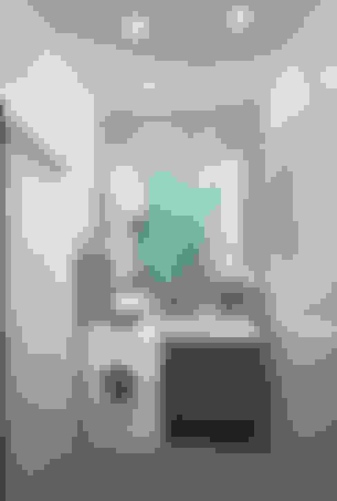 Из однушки - двушка: Ванные комнаты в . Автор – Гурьянова Наталья