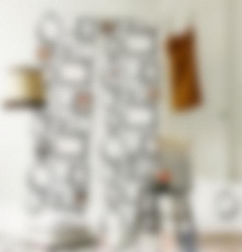Familjen Wallpaper:  Walls & flooring by Studio Lisa Bengtsson