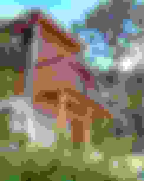 Casas de estilo  por Moradaverde Arquitetura