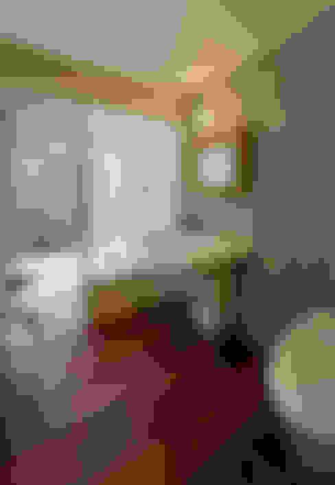 サンクンガーデンのある浴室: アール・アンド・エス設計工房が手掛けた浴室です。