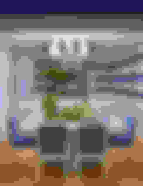 غرفة السفرة تنفيذ Prego Sem Estopa by Ana Cordeiro