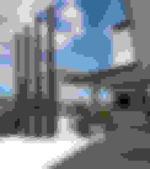 بلكونة أو شرفة تنفيذ Simon Gill Architects