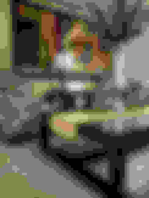 Casa Mayorazgos: Salas de estilo  por AP studioarq