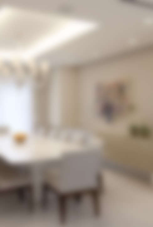 Apartamento Higienópolis 2: Salas de jantar  por Marcelo Rosset Arquitetura