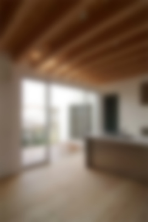 二俣川の家: ディンプル建築設計事務所が手掛けたキッチンです。