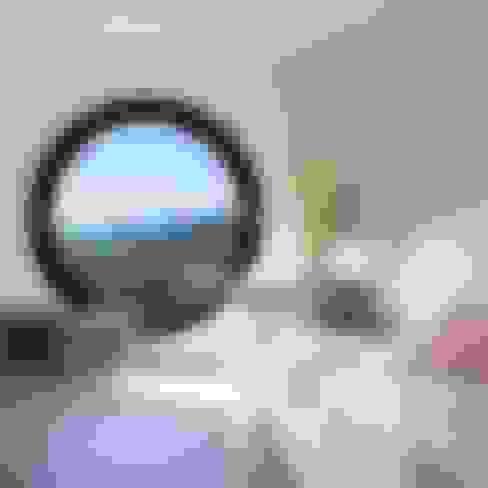 Betonowe meble: styl , w kategorii Salon zaprojektowany przez Modern Line