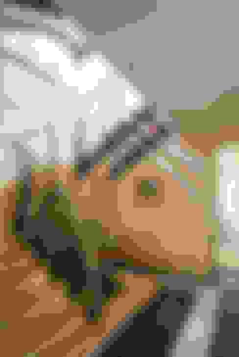 """Загородный дом """"Ч"""". лестничный холл.:  в . Автор – Vadim Bogdanov"""
