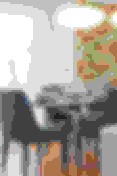غرفة السفرة تنفيذ Traço Magenta - Design de Interiores