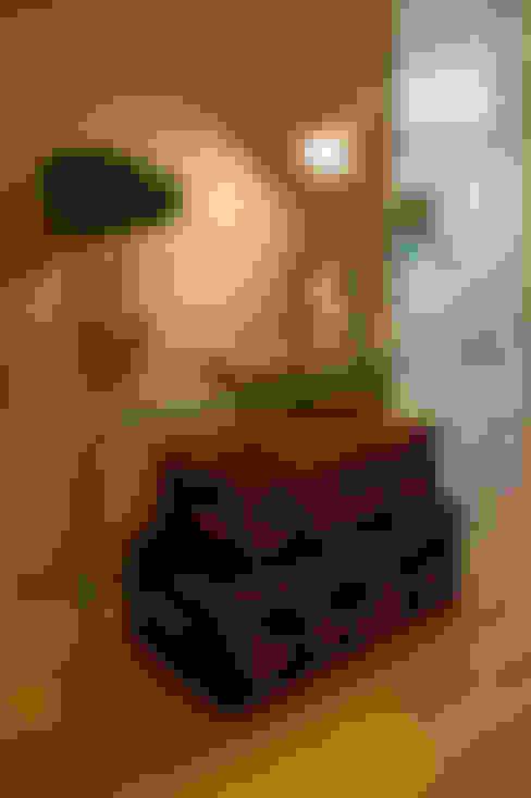 الممر والمدخل تنفيذ Traço Magenta - Design de Interiores