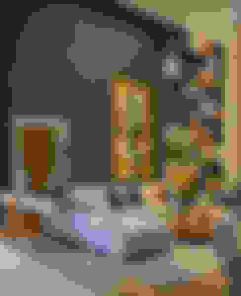 Salas / recibidores de estilo  por Lider Interiores