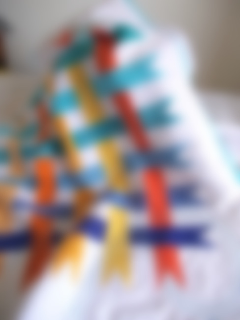 Rainbow Ribbons:   by Lilliputquilts