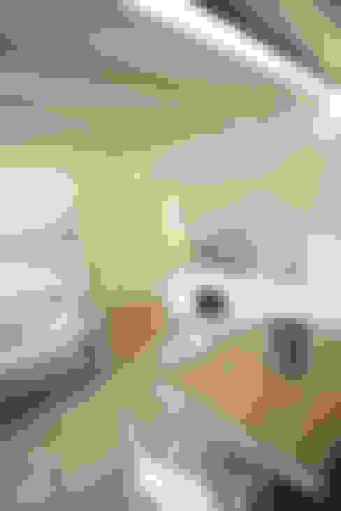 غرفة المعيشة تنفيذ luigi bello architetto