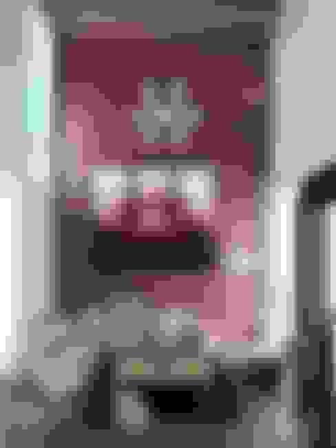 Salas / recibidores de estilo  por alfa studio arquitectura