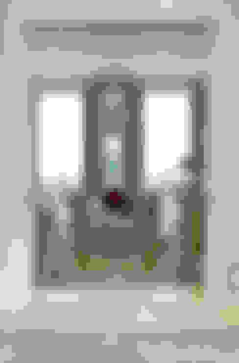 Salas / recibidores de estilo  por Nash Baker Architects Ltd