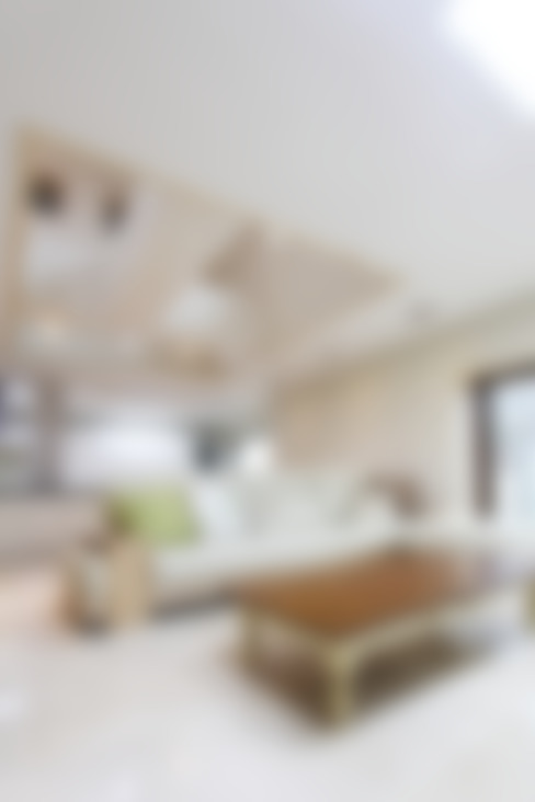 마산 구산면 주택 인테리어 : 핸디디자인 의  거실
