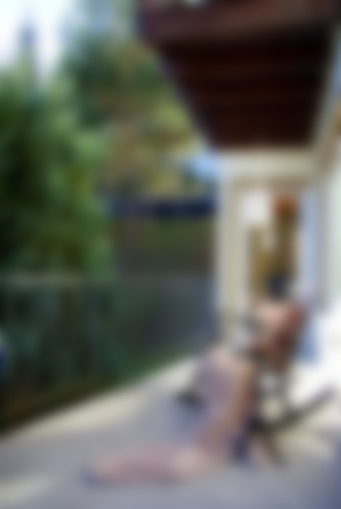 Balcon, Veranda & Terrasse de style  par wohnausstatter