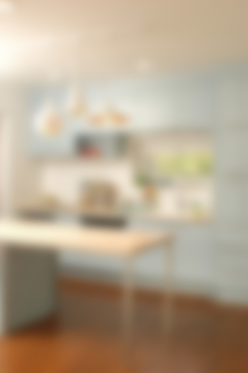 D2 미니멀 비둘기색 (양평 신축주택): 목소리의  주방