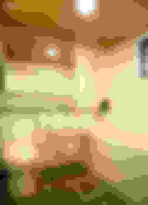 방배동 빌라 리모델링 15PY (신혼집 인테리어): 커먼그라운드의  욕실