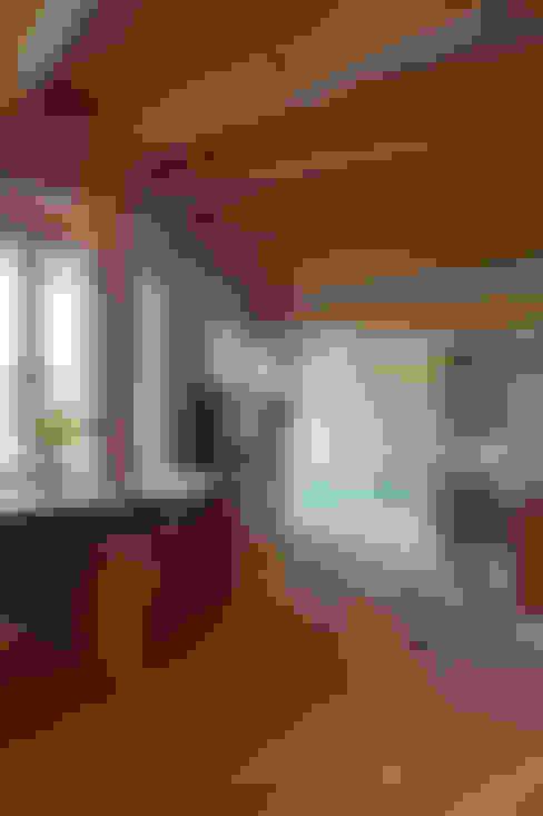 Woonkamer door 大森建築設計室