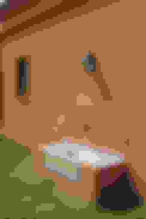 Loo Mapu: Casas de estilo  por Aulet & Yaregui Arquitectos