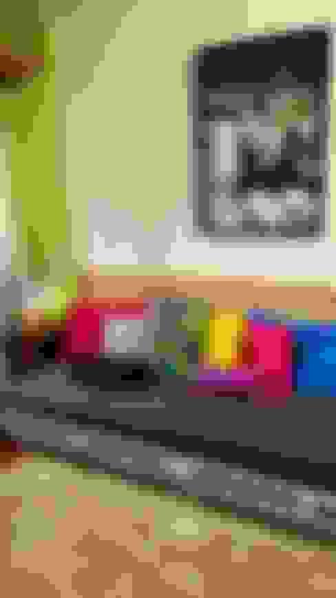 غرفة المعيشة تنفيذ Camila Feriato