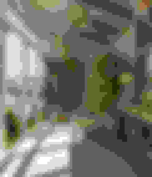 بلكونة أو شرفة تنفيذ Студия дизайна Дарьи Одарюк
