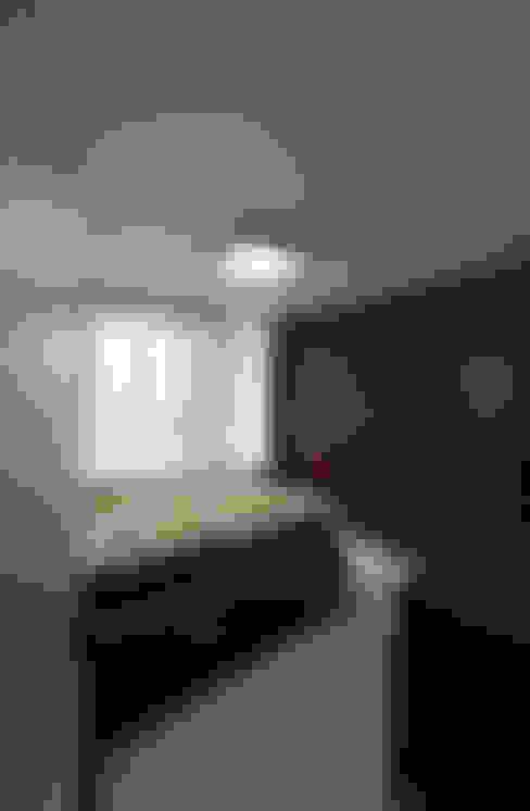 인천 우성아파트 24평 인테리어 : 금화 인테리어 의  침실