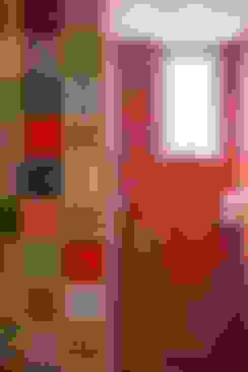 Apartamento do Amigo Calculista: Banheiros  por Nautilo Arquitetura & Gerenciamento