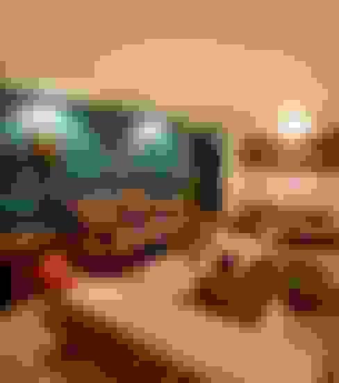 Casa Minas Gerais : Salas de estar  por Carlos Salles Arquitetura e Interiores