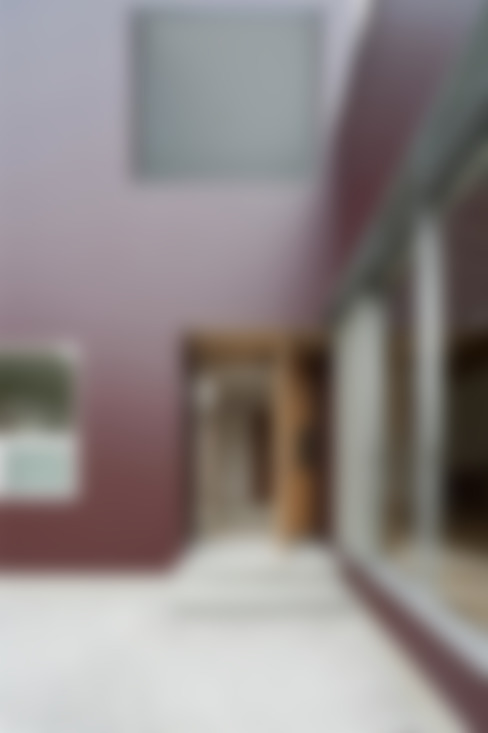 Corridor, hallway & stairs  by キリコ設計事務所