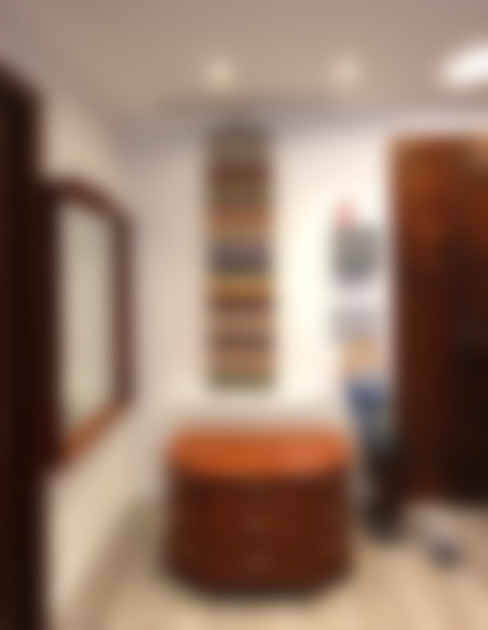 Couloir et hall d'entrée de style  par Novodeco