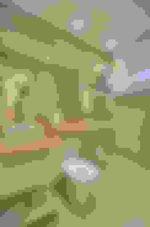 Lavabo: Banheiros  por Graça Brenner Arquitetura e Interiores