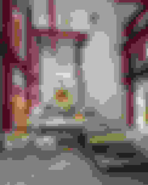 Salas / recibidores de estilo  por mousa / Inspiración Arquitectónica