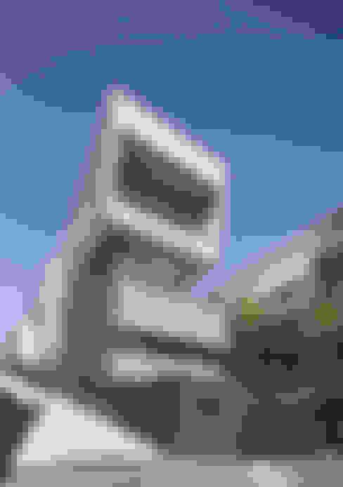 Maisons de style  par 아키텍케이 건축사사무소