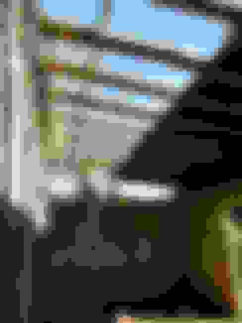 Terrazas de estilo  por FERRER||AGUIRRE ARQUITECTURA+DISEÑO+MUEBLES