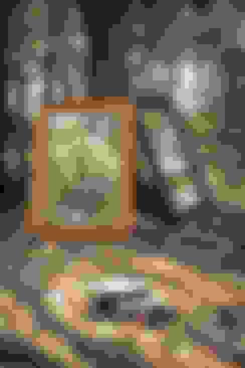 Lustro Pure Nature: styl , w kategorii Łazienka zaprojektowany przez ZAP project