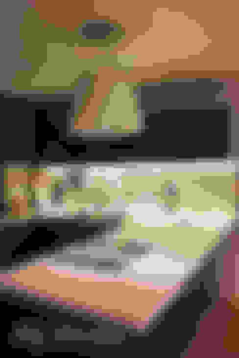 광주 복층 빌라: dip chroma의  주방