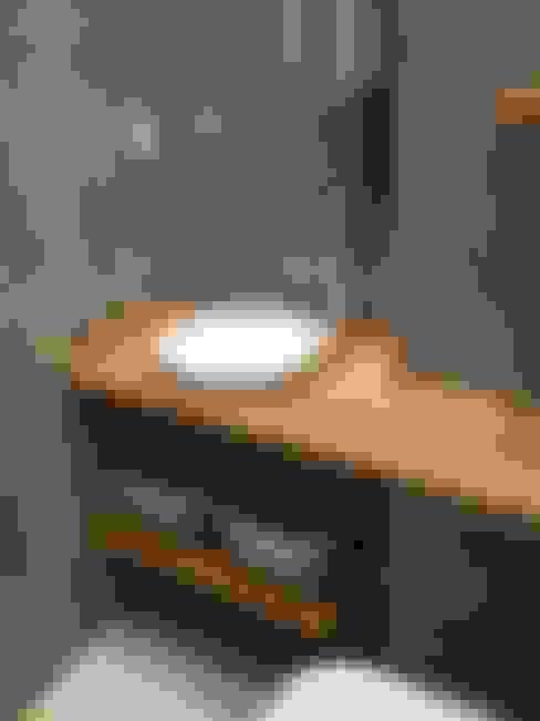 Plano Mimarlık ve Teknoloji – Firuzağa Ev:  tarz Banyo