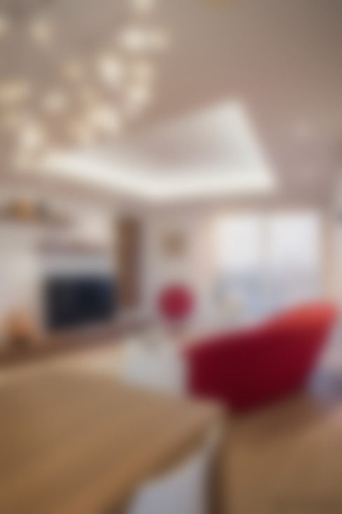 غرفة المعيشة تنفيذ YAM Studios