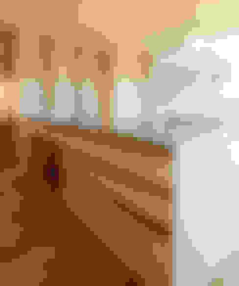 Cocinas de estilo  de バウムスタイルアーキテクト一級建築士事務所