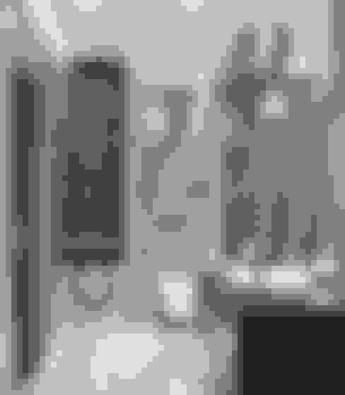 Прихожая и ванная цвета гранита: Ванные комнаты в . Автор – Студия дизайна Interior Design IDEAS