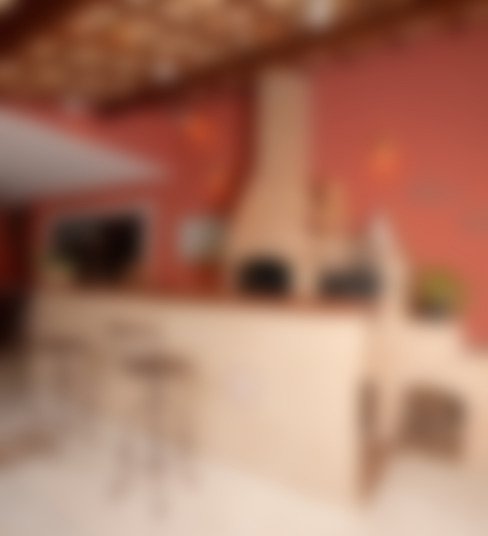 Terrazas de estilo  por Andréa Spelzon Interiores