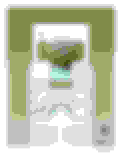 Planta alta:  de estilo  de Yucatan Green Design