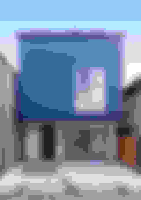 Maisons de style  par 中村建築研究室 エヌラボ(n-lab)