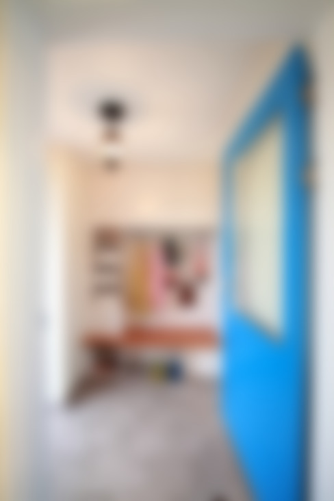 Ingresso & Corridoio in stile  di 주택설계전문 디자인그룹 홈스타일토토