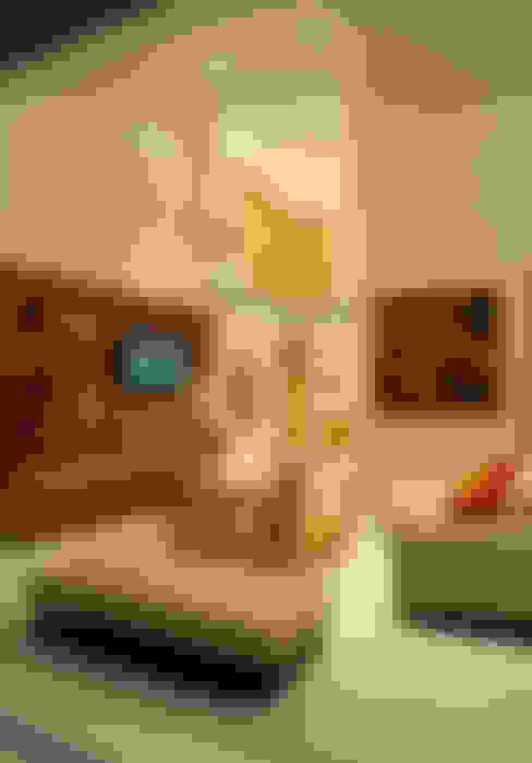 Living room by Agraz Arquitectos S.C.