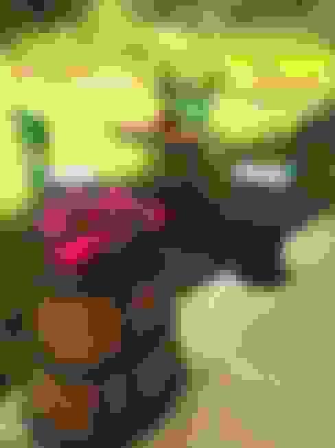 Coşkun Ahşap Dekorasyon – masa&sandalye grubu:  tarz Bahçe