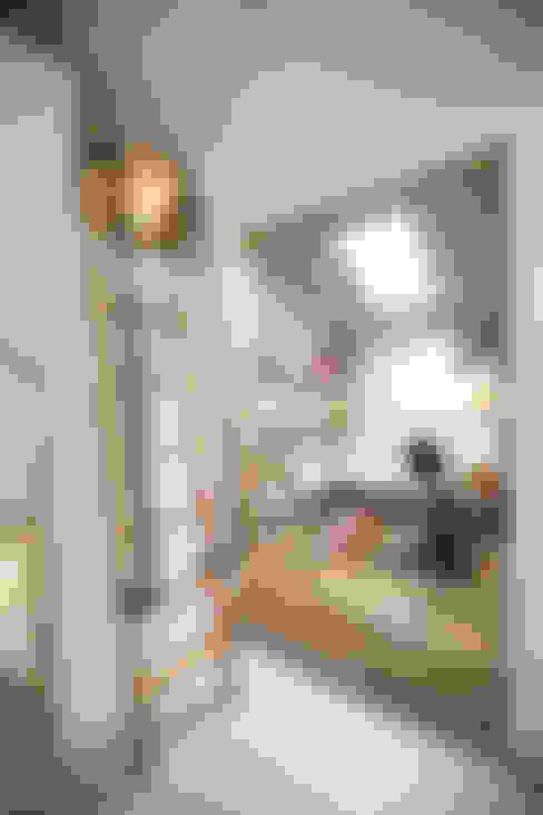 2층 좌식툇마루: 주택설계전문 디자인그룹 홈스타일토토의  베란다